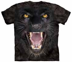 Aggressive Black Panther T-Shirt