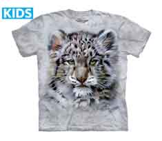 Baby Snow Leopard T-Shirt