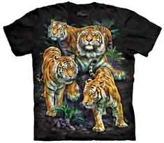 Bengal Tiger Collage T-Shirt
