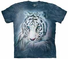 Thoughtful White Tiger T-Shirt