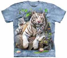 White Tigers Of Bengal T-Shirt