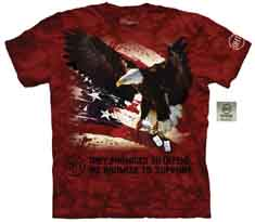 Dog Tags Eagle T-Shirt