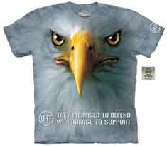 Support Eagle T-Shirt