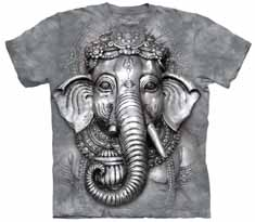 Ganesh Face T-Shirt