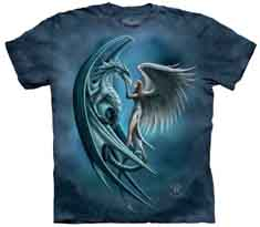 Angel And Dragon T-Shirt