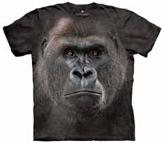 Big Face Gorilla T-Shirt