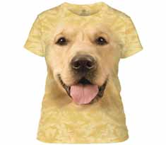 Big Face Golden Women's T-Shirt