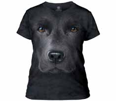 Black Lab Face Women's T-Shirt
