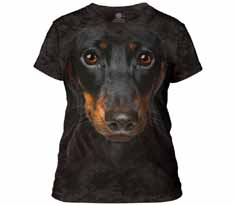 Dachshund Head Women's T-Shirt
