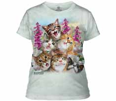 Kittens Selfie Women's T-Shirt