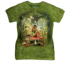 Toadstool Fairy Women's T-Shirt