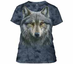 Warrior Wolf Women's T-Shirt