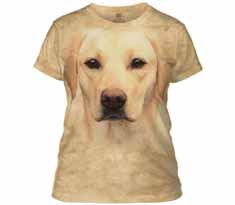 Yellow Lab Portrait Women's T-Shirt