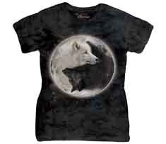 in Yang Wolves Women's T-Shirt