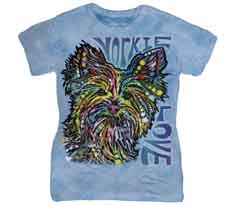Yorkie Luv Women's T-Shirt