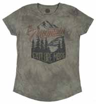 Explore More Women's Tri-Blend Tee