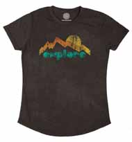 Explore Mountain Women's Tri-Blend Tee