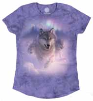 Northern Lights Women's Tri-Blend Tee
