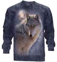 Adventure Wolf Long Sleeve T-Shirt