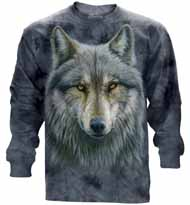 Warrior Wolf Long Sleeve T-Shirt