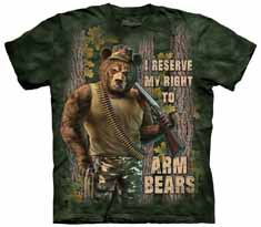 Arm Bears T-Shirt