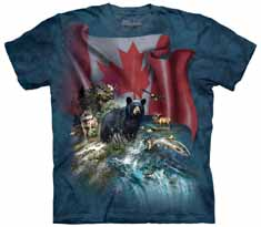 Canada The Beautiful T-Shirt