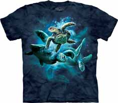 Sea Turtle Collage T-Shirt