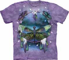 Dragonfly Dreamcatcher T-Shirt