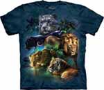 Zoo Animal Collage T Shirts