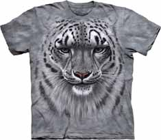 Snow Leopard Portrait T-Shirt