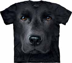 Black Lab Face T-Shirt