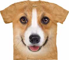Corgi Face T-Shirt