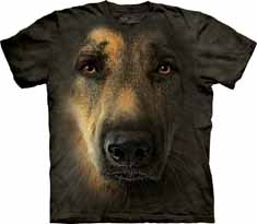 German Shepherd Portrait T-Shirt
