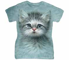Blue Eyed Kitten Women's T-Shirt