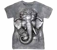 Ganesh Face Women's T-Shirt