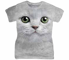 Green Eyes Face Women's T-Shirt
