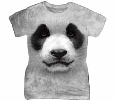 Panda Face Women's T-Shirt
