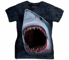 Shark Bite Women's T-Shirt