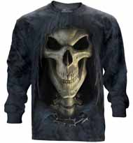 Big Face Death Long Sleeve T-Shirt
