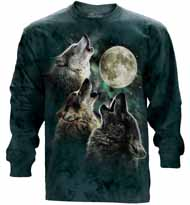 Three Wolf Moon Long Sleeve T-Shirt