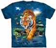 Siberian White Tiger T-Shirts &  Yellow Bengal Tiger T-Shirts