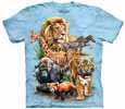 Animal Collage T-Shirts